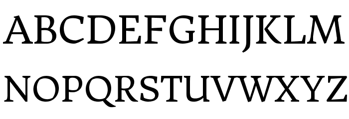 DonegalOne-Regular Font UPPERCASE
