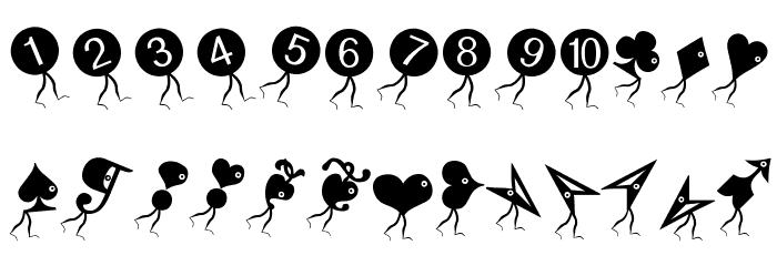 DongbutsBeings-Oblique Font UPPERCASE