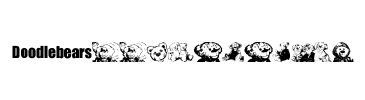 Doodlebears  Free Fonts Download