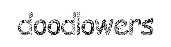Doodlowers  Free Fonts Download