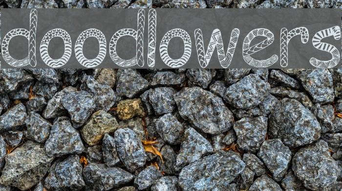 Doodlowers Font examples