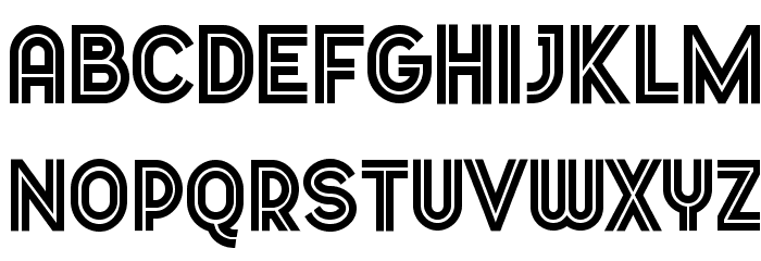 Dopest by MARSNEV light Font UPPERCASE