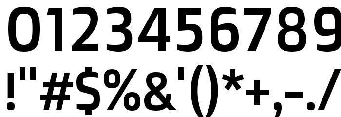Doppio One Regular Font OTHER CHARS