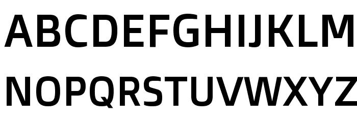 Doppio One Regular Font UPPERCASE