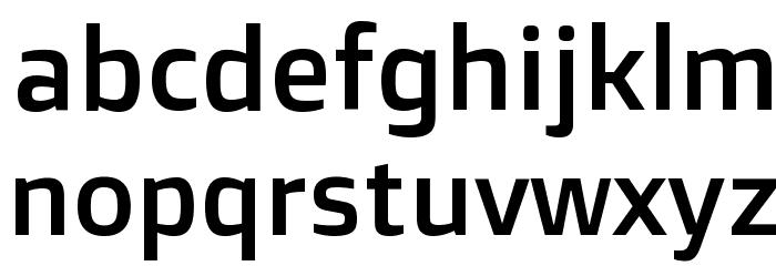 Doppio One Regular Font LOWERCASE