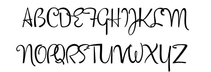 DorisDay Font Litere mari
