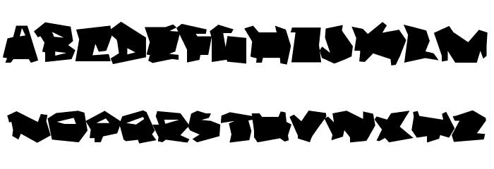 Dortmund Font LOWERCASE