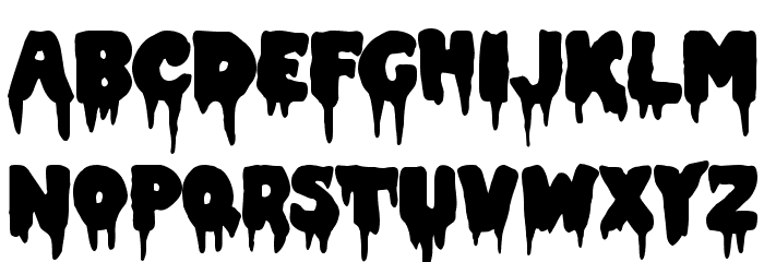 Double Feature Font UPPERCASE