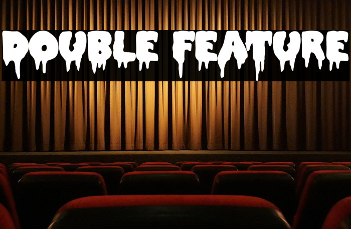Double Feature Font examples