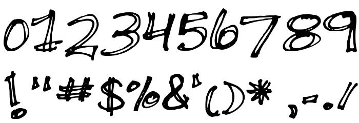 Double Scratch لخطوط تنزيل حرف أخرى