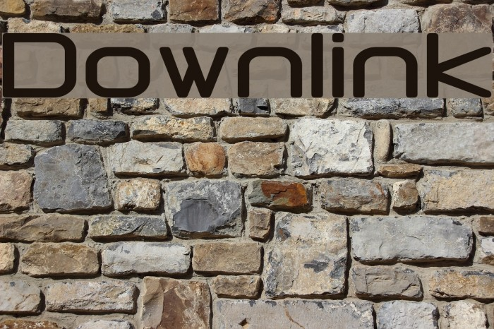 Downlink Fonte examples