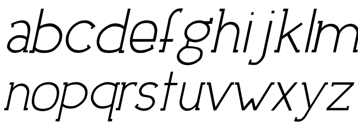DowntownElegance-Italic フォント 小文字