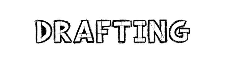 Drafting  font caratteri gratis
