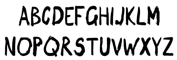 DragonNight-Regular Font UPPERCASE