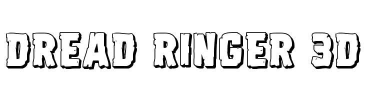 Dread Ringer 3D Font