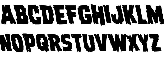 Dread Ringer Leftalic Font Litere mici