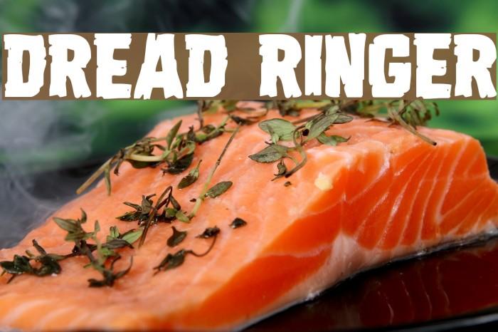 Dread Ringer Font examples