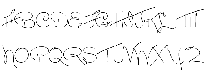 Dreamer Font UPPERCASE