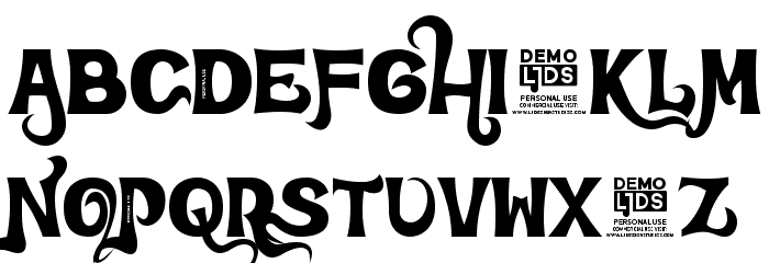 Dreams Adventure DEMO Font UPPERCASE