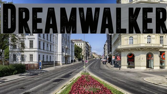 Dreamwalker Fonte examples