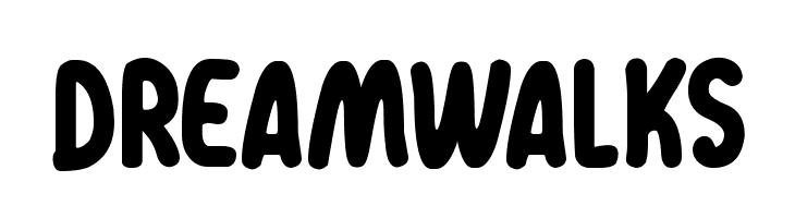 Dreamwalks  Скачать бесплатные шрифты