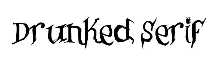 Drunked Serif  Fuentes Gratis Descargar