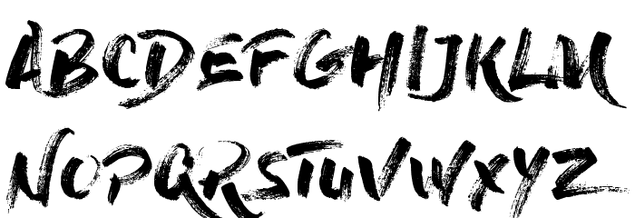 dry brush font download free fonts download