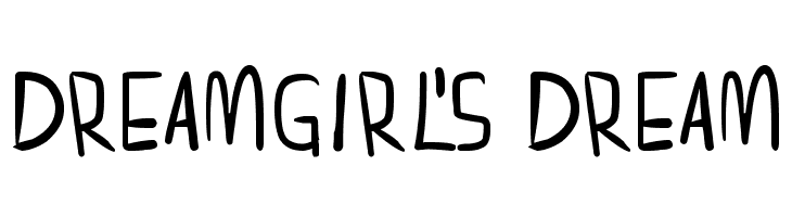 dreamgirl's dream  Free Fonts Download