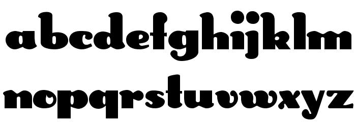 DS Rabbit Medium Font Litere mari