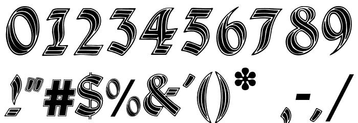 DSCathedralAlt Шрифта ДРУГИЕ символов
