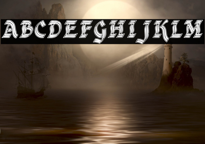 DSCathedral Font examples