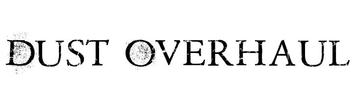 Dust Overhaul  font caratteri gratis