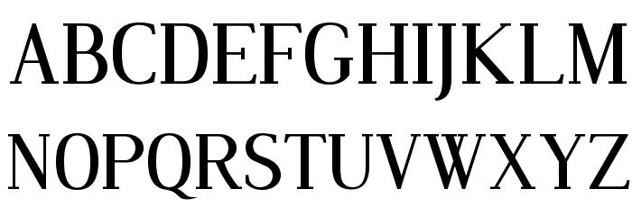 Dustismo Roman Font UPPERCASE