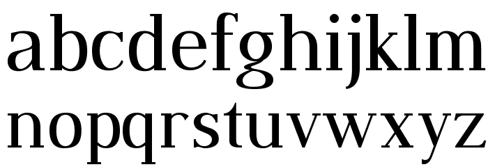 Dustismo Roman Font LOWERCASE