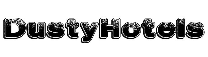 DustyHotels  Free Fonts Download