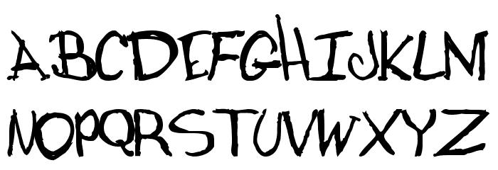 dugfont Bold फ़ॉन्ट अपरकेस