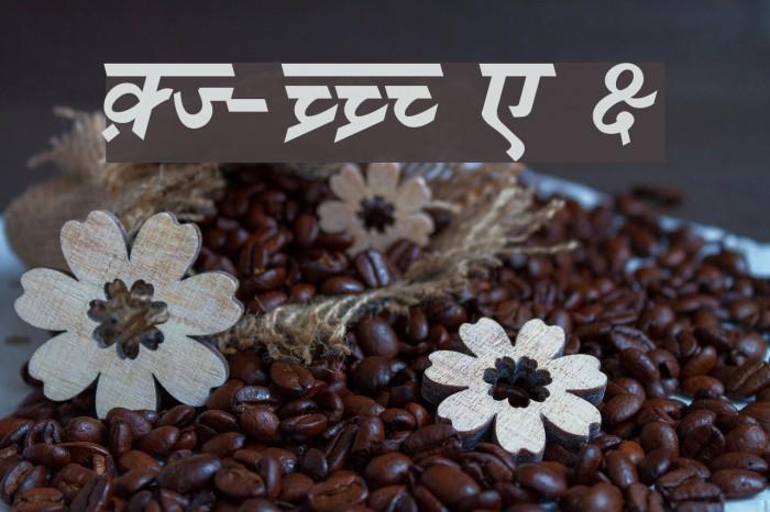 DV-TTSurekh Bold Italic Font examples