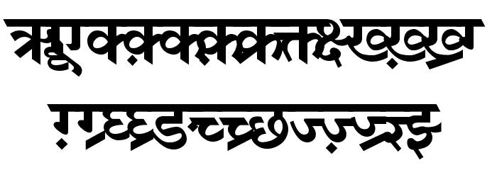 DV-TTSurekhEN-Bold Font UPPERCASE