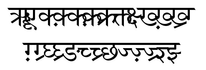 DV-TTSurekhEN-Normal Font UPPERCASE