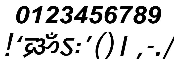 DV_Divyae Bold Italic Font OTHER CHARS
