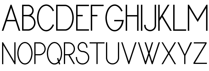 Dyane Regular Font UPPERCASE