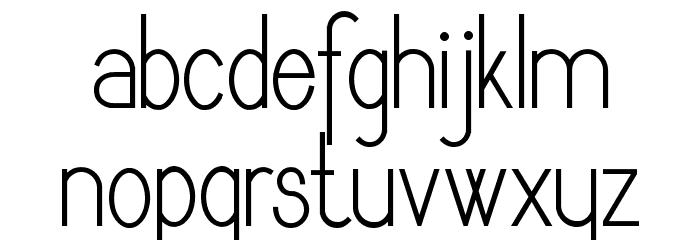 Dyane Regular Font LOWERCASE