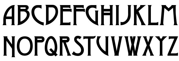 Dyer Font UPPERCASE