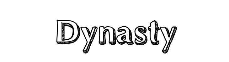 Dynasty  Free Fonts Download