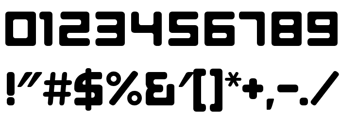 E4 ASCII Regular Fonte OUTROS PERSONAGENS