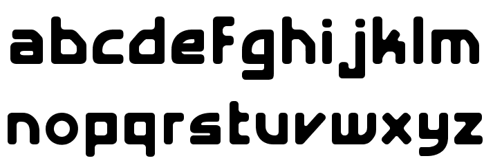 E4 Digital V2 Light Regular Font Litere mici