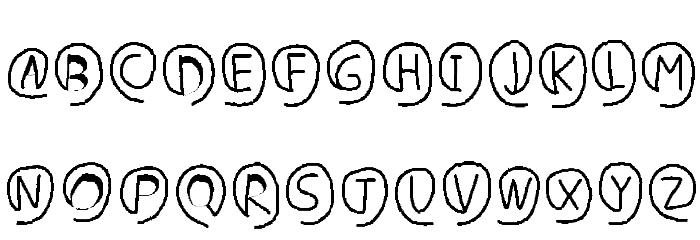 e-font Polices MAJUSCULES