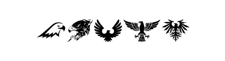Eagle  Скачать бесплатные шрифты