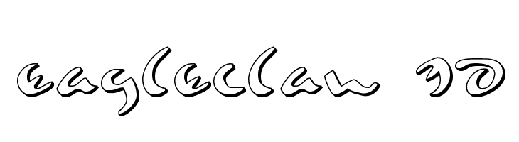 Eagleclaw 3D  नि: शुल्क फ़ॉन्ट्स डाउनलोड