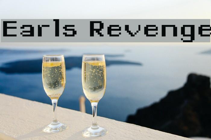 Earls Revenge Font examples